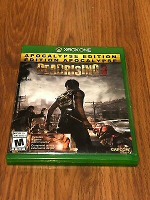 Dead Rising 3 (Microsoft Xbox One, 2013) Missing Manuals!