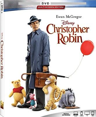 Christopher Robin (DVD, 2018) No Bluray No Digital