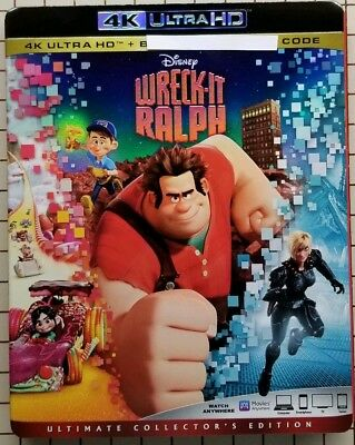 Wreck-It Ralph (4K UHD Bluray) No Regular Bluray No Digital Code