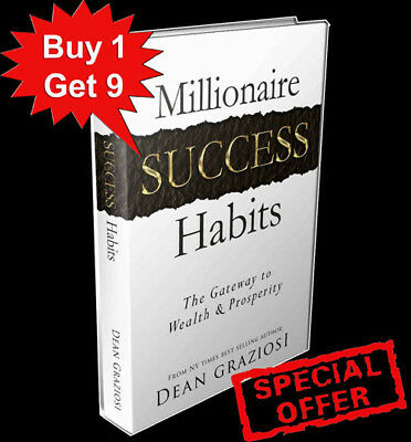 """Millionaire Success Habits"" Ways To Your Success+ 9 FREE ebooks in Bonus"