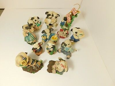 Enesco Mary's Moo Moos Set Of 10