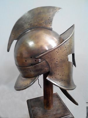 300 Spartan King Leonidas Helmet Medieval Movie Roman Greek Armor Costume Larp
