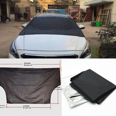 WINDSCREEN COVER Magnetic Car Window Screen Frost Ice Large Snow Dust Protector@