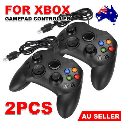 2 Dual Shock Game Black Controller Pad USB Joypad For PC Microsoft Original XBOX