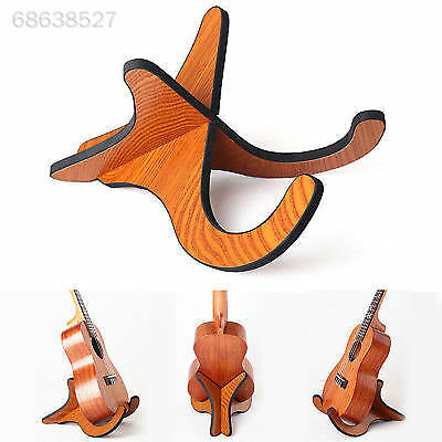 Guitar Wooden Stand Bracket Holder Shelf Mount Ukulele Violin Mandolin-Banjo UK