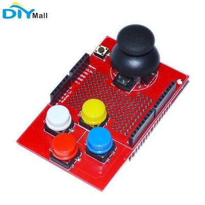 PS2 Joystick Module  Expansion Board Breakout Shield V2.0 for Arduino