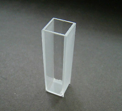 OPTICAL GLASS CUVETTE 10mm Stopper cuvettes cell