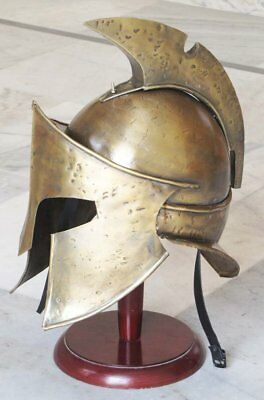 300 Movie Roman Spartan Helmet Collectible Medieval King Leonidas Helmet Armor