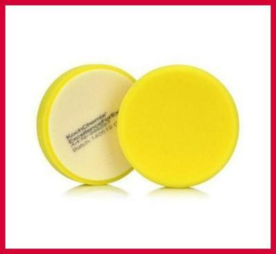 Koch Chemie Yellow Medium Hard Polishing Pad 130mm - 999267