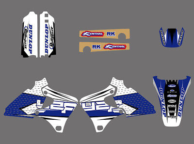 Decals Graphics Sticker For YAMAHA YZ250F YZ400F YZ426F 4 STROKES 1998-2001 2002