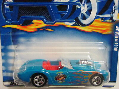 2001 Hot Wheels #197 =Austin Healey= Blau 0910