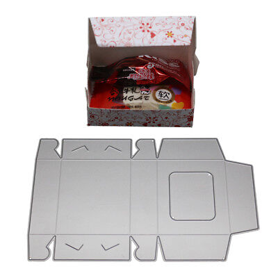 Candy Gift Box Metal Cutting Dies Scrapbooking Embossing Cards Punch Stencil Fun