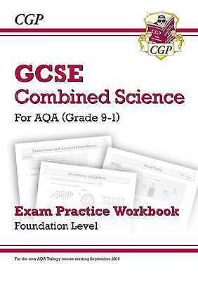 New Grade 9-1 GCSE Combined Science: AQA Exam Practice Workbook - Foundation by
