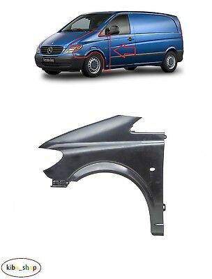 Mercedes-Benz Vito W639 2003 - 2010 New Front Wing Fender Left N/s With Hole