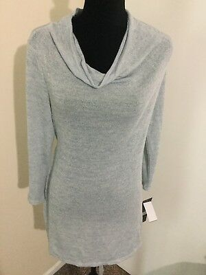Women's Oh Baby By Motherhood Maternity Light Weight Cowl Neck Sweater Large