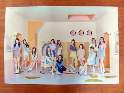 IZ*ONE - COLOR*IZ (Ver. A) [OFFICIAL] POSTER *NEW* K-POP IZONE / COLOR / ROSE