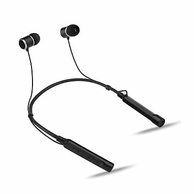 Groov-e Connect Bluetooth Wireless Earphones with Neckband, 8-10 Hours Playba...