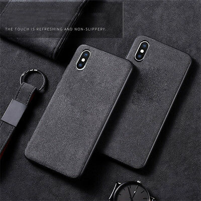 For Apple iPhone X / XS / XS Max ALCANTARA CASES Case Cover Pouch Protective
