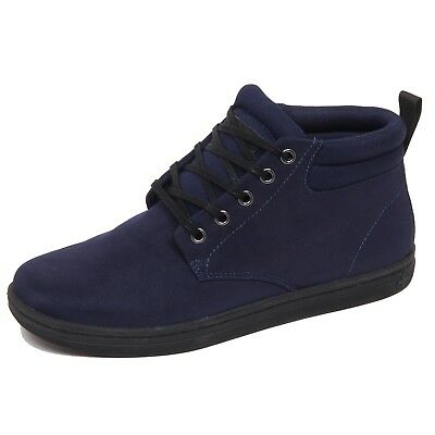 D8078 (without box) sneaker uomo blu DR. MARTENS leather