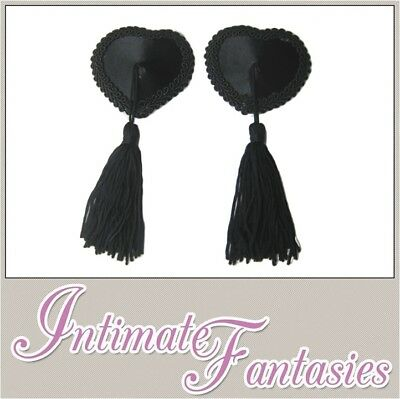 Nipple Tassels Tassles Pasties Covers Sexy Burlesque Outfit Stripper Valentine