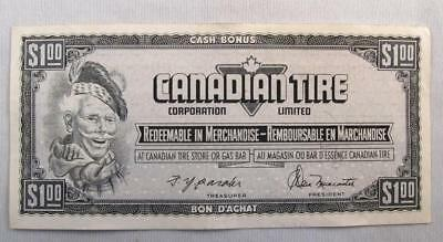 Vintage Canadian Tire Money 1$ Note  # Fn8296652