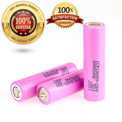 100% Genuine Samsung 2600Mah 5A Icr18650-26F 26H  Battery Inr Flat Top Uk Tested