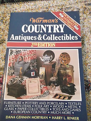 Warman's Country Antiques & Collectibles 2nd edition 1994