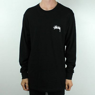eec7043c STUSSY WIZARDS LONG Sleeve T-Shirt Top Black in size S,M,L,XL - EUR 57,98 |  PicClick FR