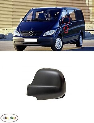 Mercedes-Benz Vito W639 2003 - 2010 1X New Wing Mirror Cover Cap Left N/s