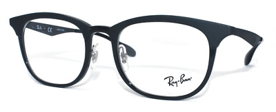 1bdcd628b44 New Authentic Ray Ban Eyeglasses Unisex Rb7112 5682 Matte shiny Black 53-20-