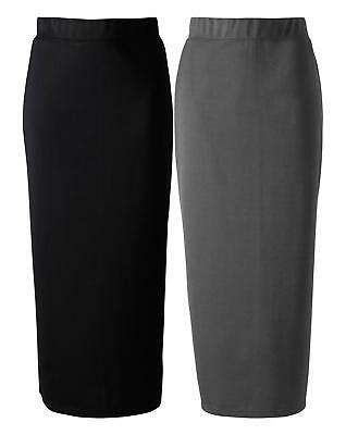 New Womens Pack Of 2 Pull-On Skirts