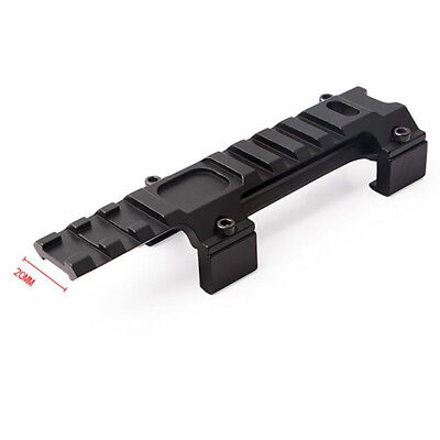 Tactical Scope Base Mount 20mm Top Rail Scope Mount Airsoft For Adapter
