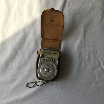 Kalimar Light Exposure Meter A-1, Vintage with Leather Case