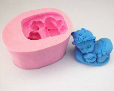 2 x Baby Boy Silicone Moulds pack No 2