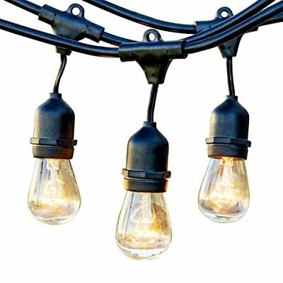 Newhouse Lighting Outdoor String Lights Hanging Sockets