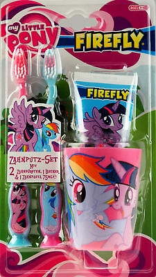 My Little Pony Toothbrush, Toothpaste, Cup Holder Gift Set