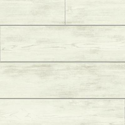York Wallcoverings MH1559 Magnolia Home Shiplap Removable Wallpaper Gray/ Off