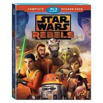 Star Wars Rebels Complete Season 4 (Blu Ray) USA SELLING SHIPPING TODAY