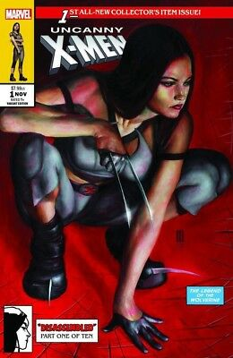 UNCANNY X-MEN 1 MIKE CHOI VARIANT 2018 TRADE X-23 McFarlane SPIDER-MAN LTD 1000