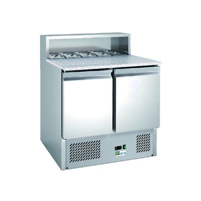 Meuble 240L pizza 2portes inox AFI Collin Lucy