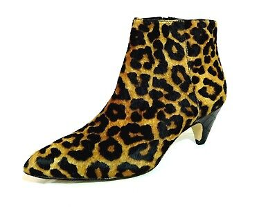 02bf40576bc84 SAM EDELMAN  LEOPARD PRINT HIGH HEEL ANKLE BOOTIES Size 7 -  35.99 ...
