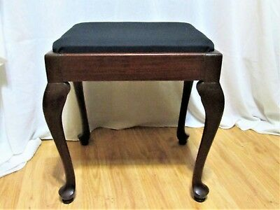 Singer Queen Anne Seat Bench Stool Chair...