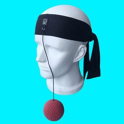 Harlan Reflex Boxing Ball on String with Headband for Fight,Fight Ball Reflex, Q