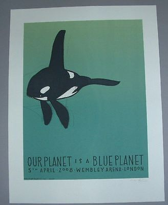Jay Ryan Blue Planet London UK Poster Print Signed Numbered BBC 2008