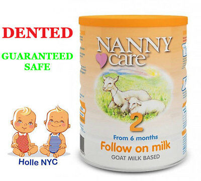NANNY care Follow on Milk Formula Goat  900g  FREE EXPEDITED SHIPPING DENTED