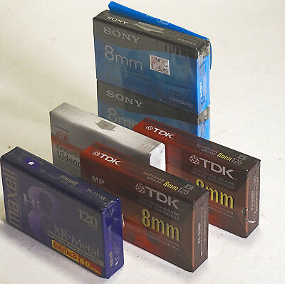 Lot of 8mm Hi-8 tapes for camcorder (mixed), one piece - $3.49
