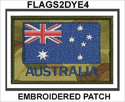 Australian Army embroidered uniform cloth patch includes AUSTRALIA POST TRACKING