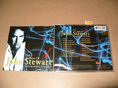 John Stewart Turning Music Into Gold cd 1995 cd is Ex/Inlays are vg+