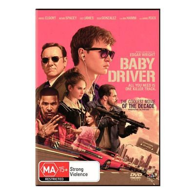 NEW Baby Driver - DVD