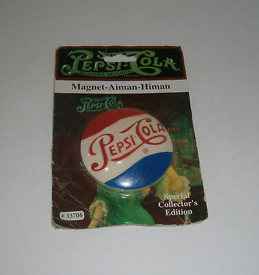 New 1996 Special Collector's Edition Pepsi-Cola Magnet Aiman Himan #33706